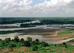 Tana River which runs along the borders of the county