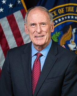 Dan Coats 5th and current Director of National Intelligence, former United States Senator from Indiana