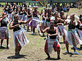 Dancers from Wairavanua community at the opening of the new school (10691099154).jpg