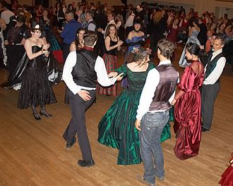 Gaskell Ball - Dancers at The Gaskell Ball