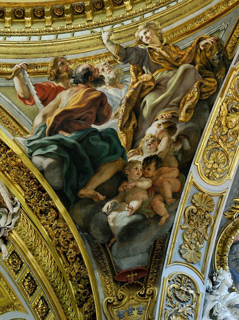 Daniel Ezekiel Jeremiah Isaiah Gesu Rome.jpg