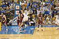 Darren Collison jump shot in WSU-UCLA game 2008-01-12.jpg