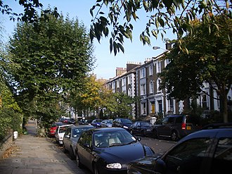 Dartmouth Park - Image: Dartmouth Park Road lower part 2005