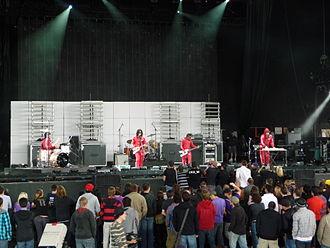 Datarock - Datarock performing at Virgin Festival Ontario day 2 2009