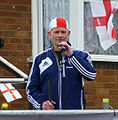 Dave Heeley opening the Stone Cross St George's Parade 2014.jpg