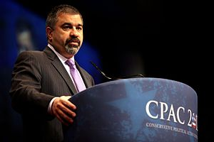 David Bossie - Bossie addressing the 2012 Conservative Political Action Conference (CPAC) in Washington, D.C.