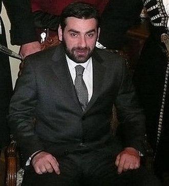 David Bagration of Mukhrani - Prince David in 2008