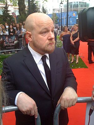 David Slade at the London Premiere of The Twil...