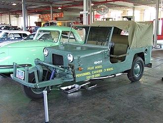 Davis Motorcar Company - Davis 494, at the National Automotive and Truck Museum, Auburn, IN