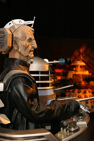 Davros - The Doctor Who Experience Davros modelled on Julian Bleach