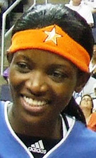 DeLisha Milton-Jones - DeLisha Milton-Jones at the 2007 WNBA All-Star game.