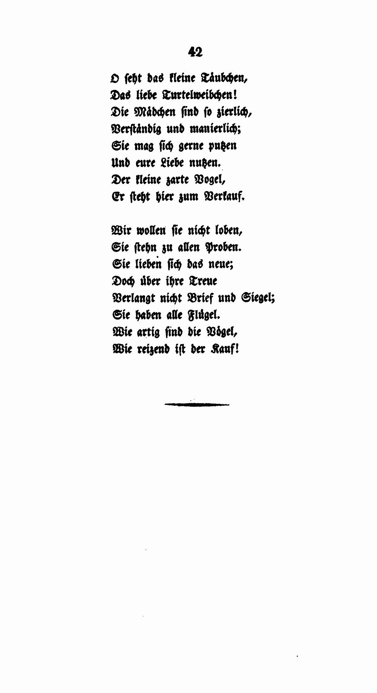 liebe gedicht goethe