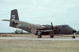 838th Air Division - C-7A Caribou at Dyess AFB