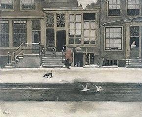 De Kromboomsloot te Amsterdam