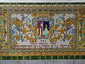 Decoració ceràmica a Capitania General de Barcelona - Fray Miguel Puig.JPG
