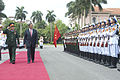 Defense.gov News Photo 120604-D-BW835-0587 - Vietnamese Minister of National Defense Senior Lt. Gen. Phuong Quang Thanh escorts Secretary of Defense Leon E. Panetta as he inspects the troops.jpg