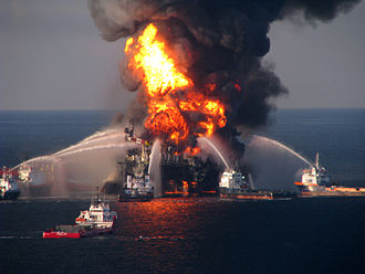 Fossil fuel phase-out - The 2010 Deepwater Horizon oil spill discharges 4.9 million barrels