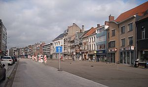 Deinze - Image: Deinze tijdens de werken van 2011 België