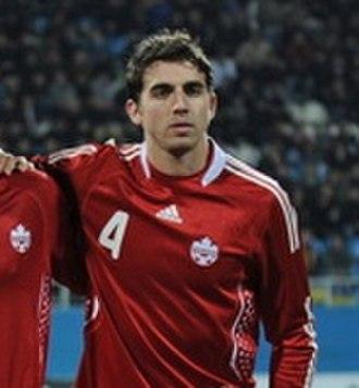 Dejan Jakovic - Jaković with Canada in 2010