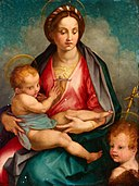 Del Sarto, Andrea - Madonna and Child with St John - Google Art Project.jpg