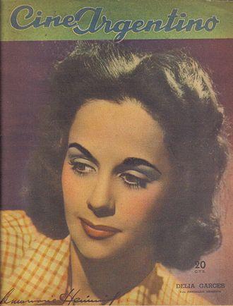 Delia Garcés - Delia Garcés by Annemarie Heinrich, 1942