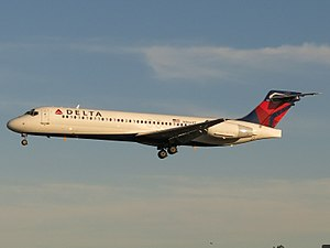 Boeing Commercial Airplanes - Image: Delta Air Lines Boeing 717 2BD N966AT