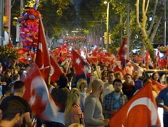 Bağdat Avenue - 2013 protests in Turkey at Bağdat Avenue, Istanbul.