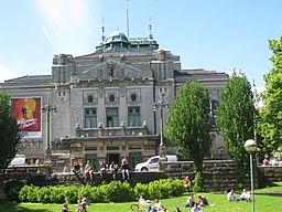 Den Nationale Scene - das Nationaltheater Bergen (Norwegen)