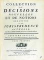 Denisart - Collection de décisions nouvelles, 1771 - 143.tif