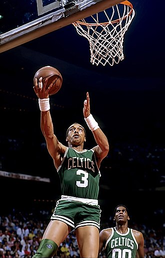 "Boston Celtics - Dennis Johnson was a key contributor to the ""Big Three"" title teams of the 1980s."