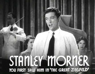 "Dennis Morgan - Morgan was billed under his given name ""Stanley Morner"" early in his career, such as in Mama Steps Out (1937)"