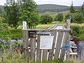 Derelict bridge, Strathfarrar - geograph.org.uk - 40227.jpg
