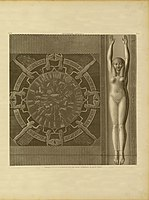 Description of Egypt. 2nd edition. 1822. Vol. 4. Pl. 21 (Dendera Circular Zodiac).jpg