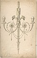 Design for a Girandole Composed of Three Clasping Arrows and Candle-branches Terminating in Cockerel Heads MET DP805620.jpg