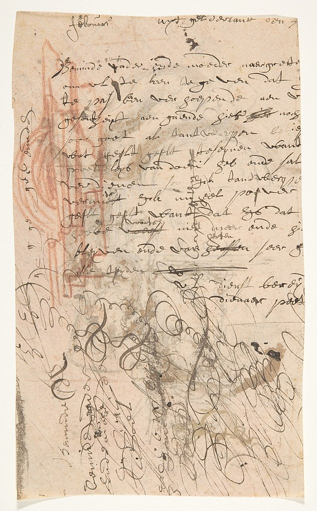 file design for a sepulchral monument with an allegory of time verso architectural sketch and fragment of a letter met dp808644 jpg