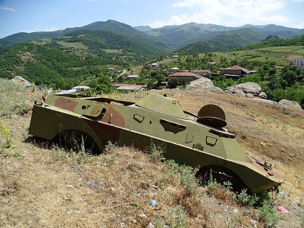 Destroyed Military Vehicle , Karintak, NKR