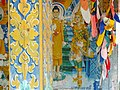 Detail of Temple Shrine - Phnom Srei (Woman Hill) - Outside Kampong Cham - Cambodia (48354788407).jpg