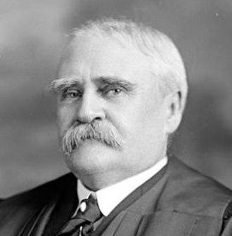 Button-Fastener case - Judge (later Justice) Lurton authored the opinion in the Button-Fastener case