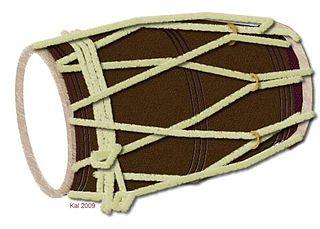 Dholak ancient Indian drum