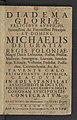Diadema gloriae felicibvs avspiciis Michaelis regis Poloniae favente caelo post 1669 (106875501).jpg