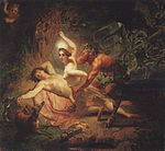Diana, Endymion and Satyr by Karl Briullov.jpg
