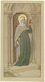 Die Heilige Elisabeth, der Holzstatue des 15. Jahrhunderts in St. Elisabeth in Marburg nachempfunden (SM 7199z).png