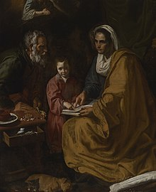 Diego Velazques Yale painting Education of the Virgin.jpg