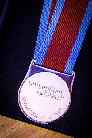 University of Hasselt - University medal