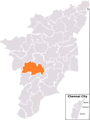 Dindigul (Lok Sabha constituency) - Dindigul constituency, post-2008 delimitation