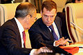 Dmitry Medvedev with Sergey Lavrov-2.jpg