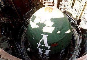 R-36 (missile) - Dnepr inside silo
