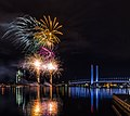 Docklands Winter Fireworks (27854994493).jpg