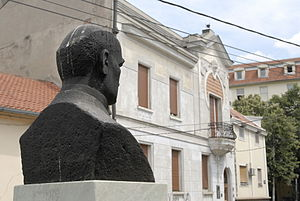 Mihailo Petrović - Bust and home of Mika Alas