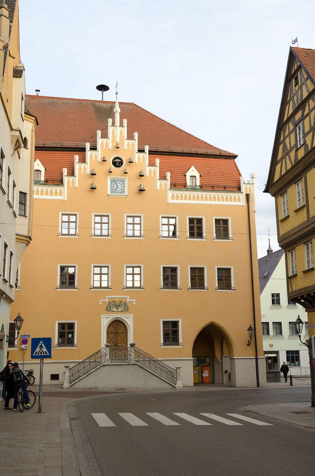 Rathaus (Donauwörth) – Wikipedia